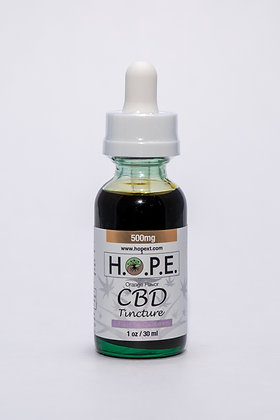 H.O.P.E. Tincture Sweet Orange 500mg