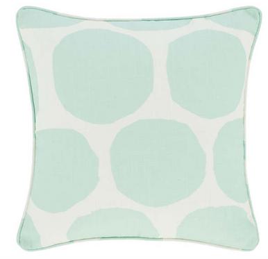 Large Spot Indoor/Outdoor Pillow - Sky