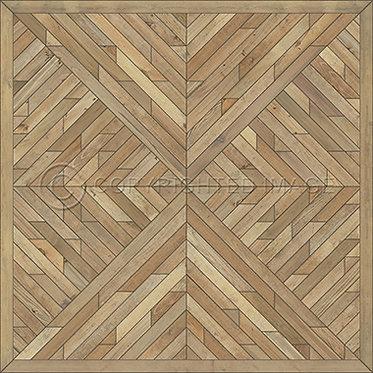 Vinyl Floorcloths: Flowed Squares