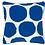 Thumbnail: Large Spot Indoor/Outdoor Pillow - Cobalt