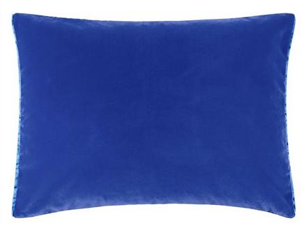 Marine Velvet Toss Pillow
