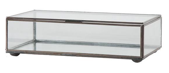 Rectangular Glass Box, Medium