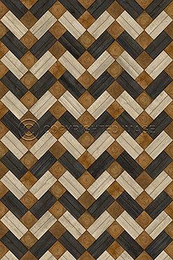 Vinyl Floorcloths: Woodson Lethaby