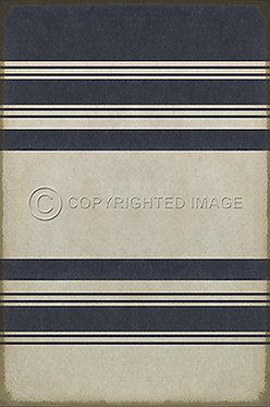 Vinyl Floorcloths: Organic Stripes