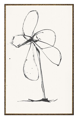 Flower Ink Drawing 2