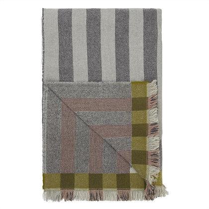 Geometric Wool Throw