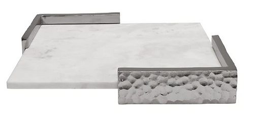 Marble Hammered Tray