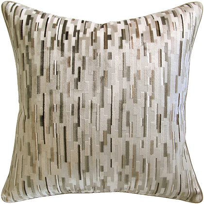 Piped-Fairford Woodsmoke Pillow