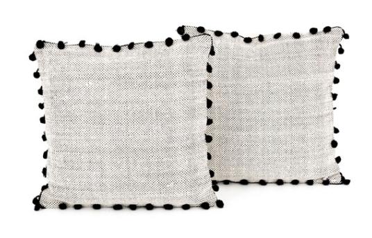 Fringe Pillow Set