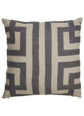 Charcoal Pattern Toss Cushion