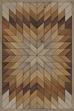 Vinyl Floorcloths: Wocklow Camaderry