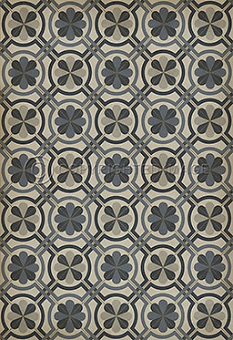Vinyl Floorcloths: Madame Curie