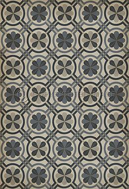 Vinyl Floorcloths: Madame Curie