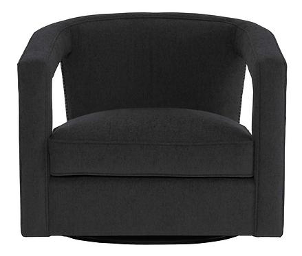 Velvet Swivel Chair