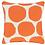 Thumbnail: Large Spot Indoor/Outdoor Pillow - Orange