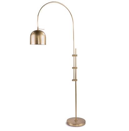 Natural Brass Floor Lamp
