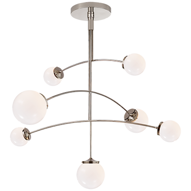 Mobile Nickel Chandelier