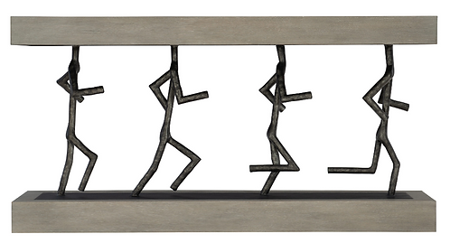 Running Man Console Table