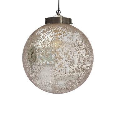 Mercury Glass Pendant