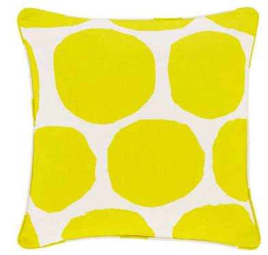 Large Spot Indoor/Outdoor Pillow - Citrus