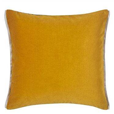 Velvet Amber Toss Pillow