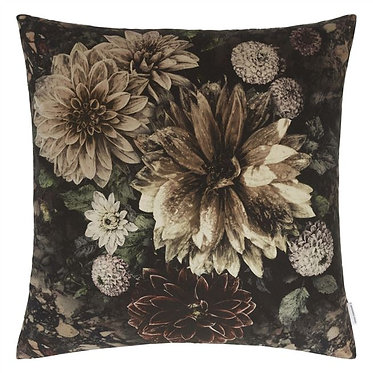 Slate Flower Toss Pillow