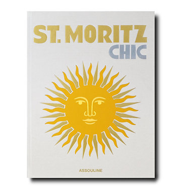 St. Moritz Coffee Table Book