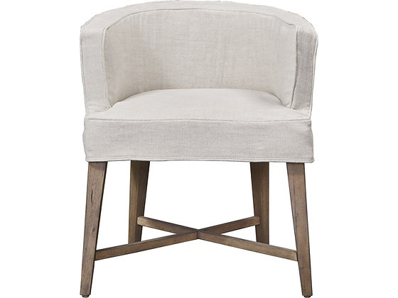 Slipcovered Games Chair