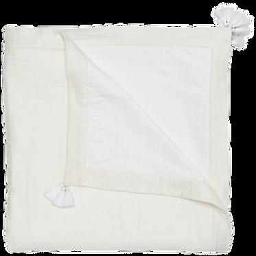 Nissita White Blanket