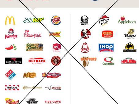 Boycott.