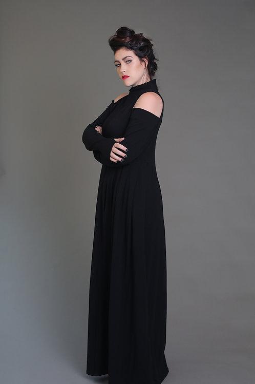 """Black Maxi Dress """"R.E.S.P.E.C.T"""""""