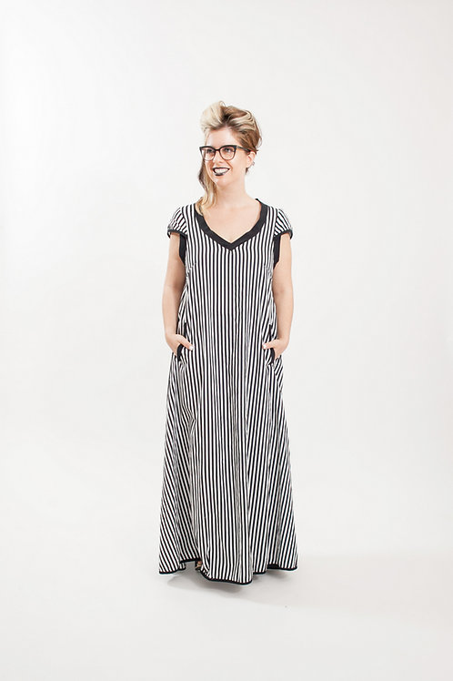 Wind Stripes Dress