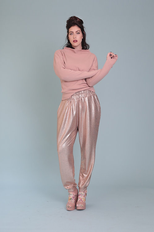 "Rose-Gold Jumper Trousers "" Starman"""