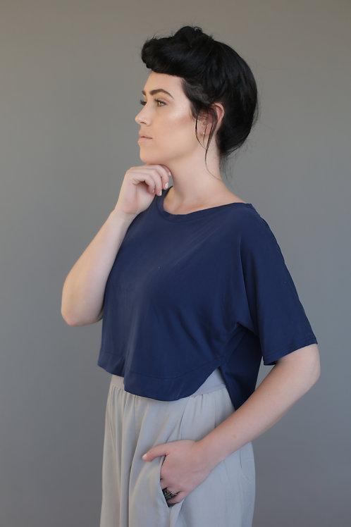 """Blue Navy """"Melrose"""" Shirt"""