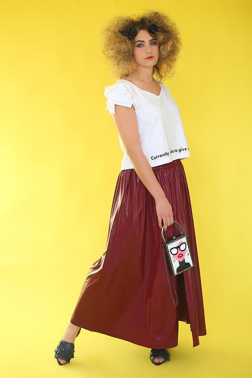 """Wine Skirt """"Sakura"""""""