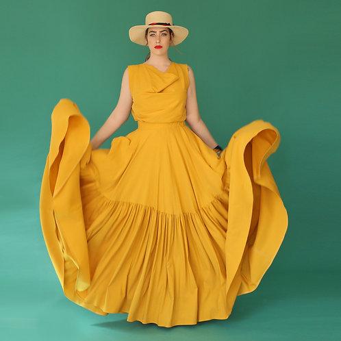 "Yellow Skirt ""PapayaYael"""