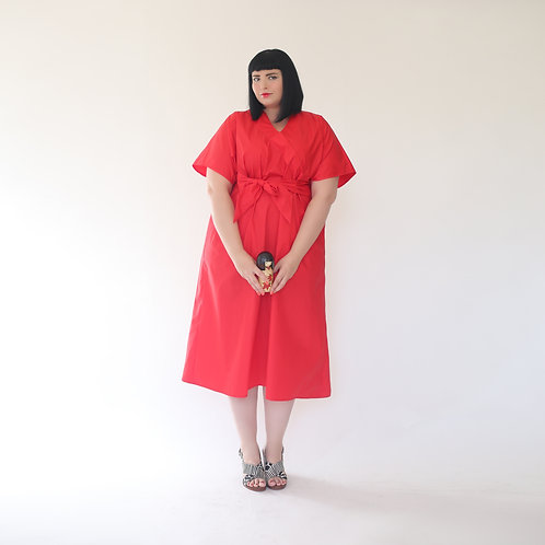 """Red Kimono """"Geisha"""""""