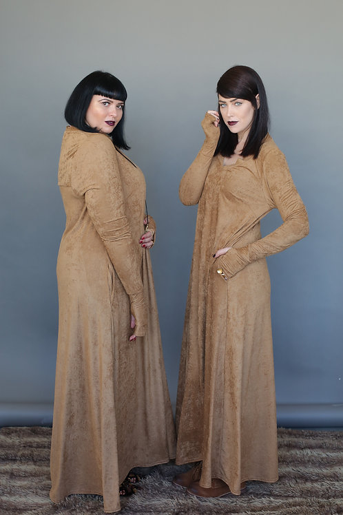 "Camel Dress ""Hili Woodstock"""