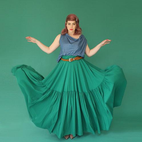 "Green Skirt ""Avocadoc"""