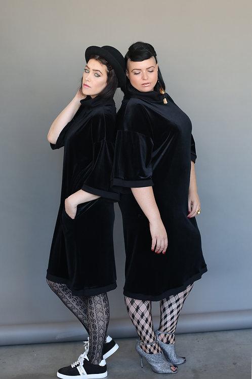 """Black Velvet Dress """"Blackish"""""""