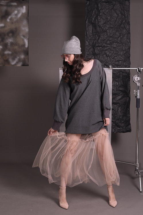 "Pudra Tulle Skirt ""Carrie"""