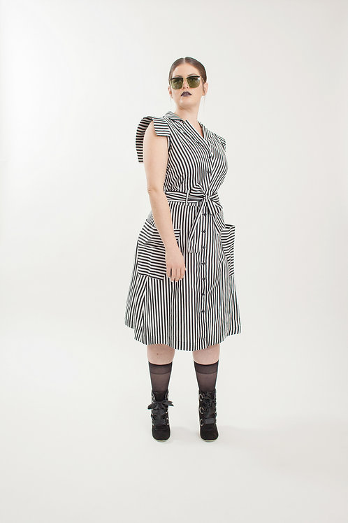 Kiss Stripes Dress