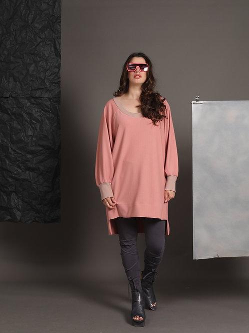 """Pink Sweatshirt """"Flashdance"""""""