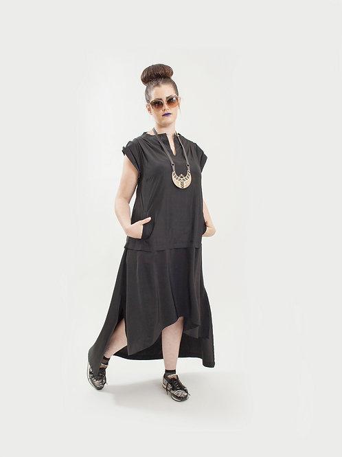 Onichka Black Dress