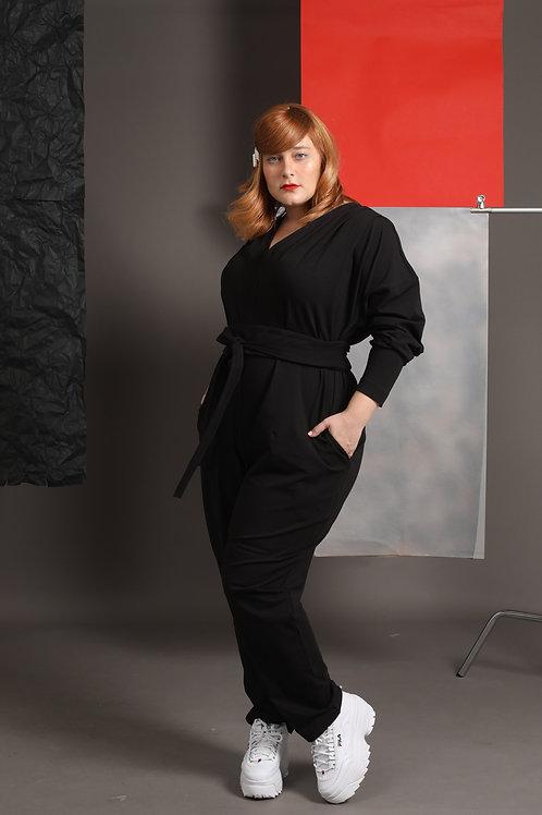 """Black Overall """"Jane Fonda"""""""