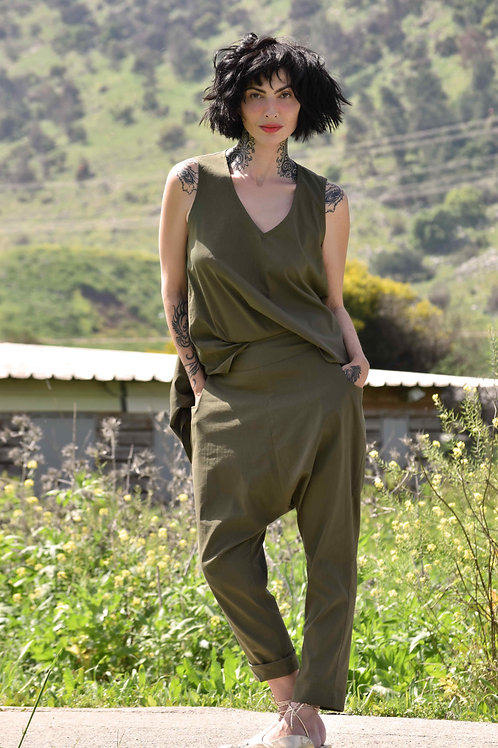 """Olive Trousers """"Toscana"""""""