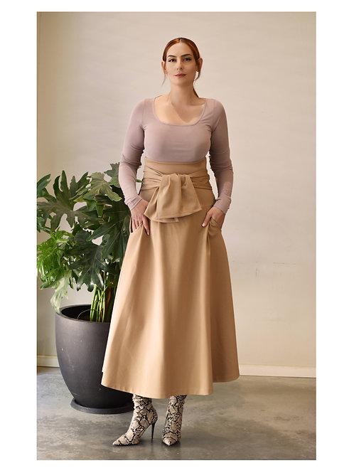 """Camel Skirt """"Monsoon"""""""