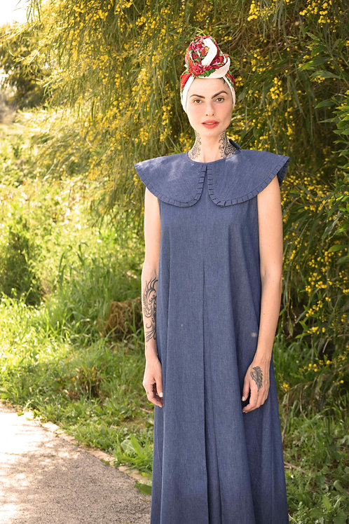 "Denim Maxi Dress ""San Francisco"""