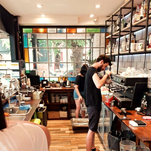 Cigalo Specialty Coffee Buenos Aires, Argentina. Barista