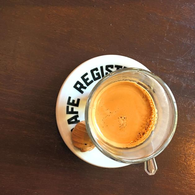 Espresso. Cafe Registrado Specialty Coffee Buenos Aires Argentina